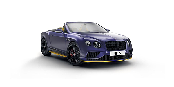 Continental GT V8 S Convertible Black Edition